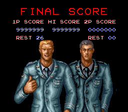 Contra III - The Alien Wars - Contra 3 Beaten - User Screenshot